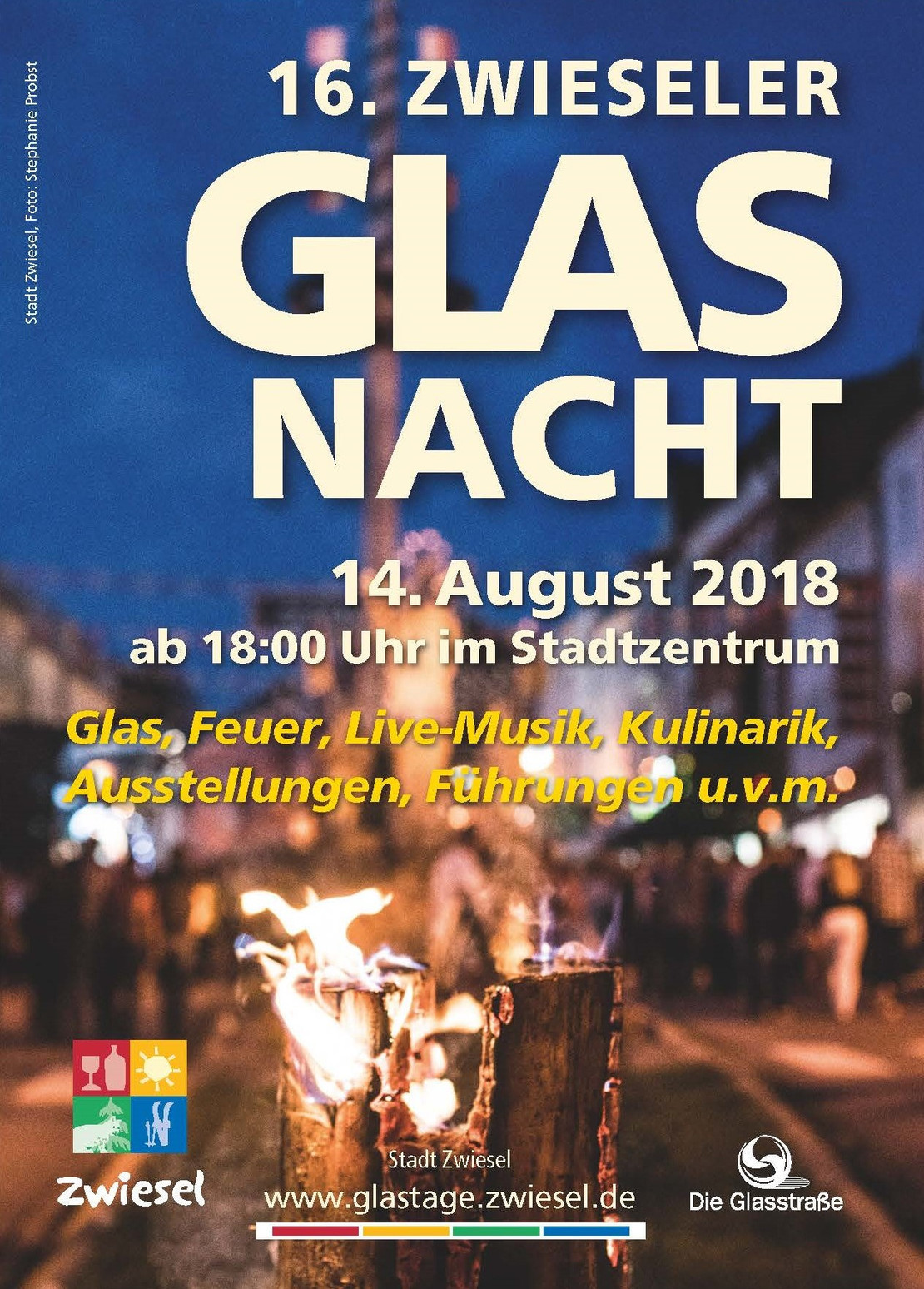 Flyer Glasnacht 2018